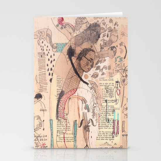 Bassist Stationery Card