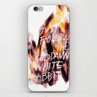 Lewis Carroll iPhone & iPod Skin