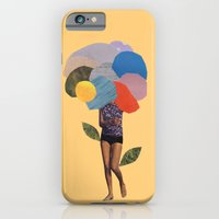 i dream of you amid the flowers iPhone 6 Slim Case