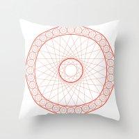 Anime Magic Circle 13 Throw Pillow