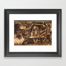 All Aboard Framed Art Print