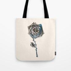 Royal Blue Rose Tote Bag