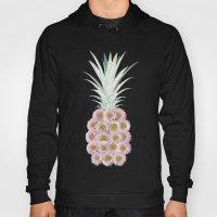 Floral Pineapple Stripes… Hoody