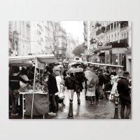 La Vie Parissiene Canvas Print