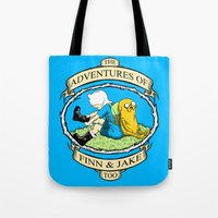 The Adventures of Finn & Jake, Too Tote Bag
