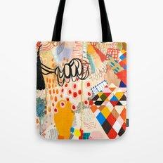 Wallpaper and Diamonds Part II Tote Bag