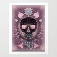 Amethyst Dream Art Print