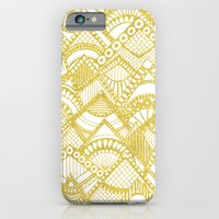 iPhone & iPod Case featuring Golden Doodle mountains by Katy Clemmans