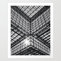 Metal And Glass Art Print