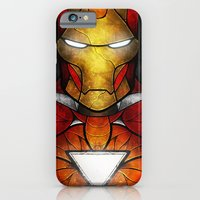 iPhone & iPod Case featuring The Iron Man by Mandie Manzano