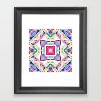 Prismatic Framed Art Print