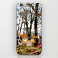 If a band plays in the forest ...... iPhone & iPod Skin