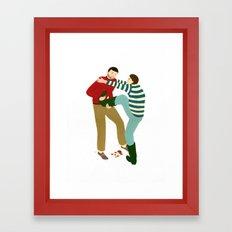 Boot Pull Framed Art Print