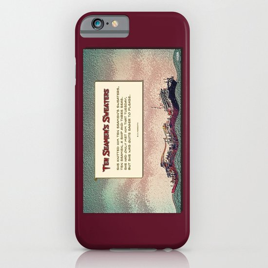 Ten Seamen's Sweaters iPhone & iPod Case