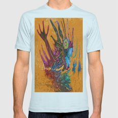 The Swamps Of Frigg Mens Fitted Tee Light Blue SMALL