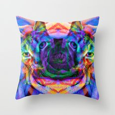 Sir Parker's Binary Fission Throw Pillow
