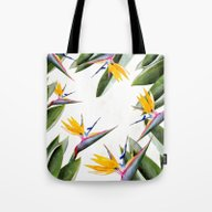 Bird Of Paradise #societ… Tote Bag