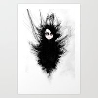 Becoming You. I'm Not Af… Art Print