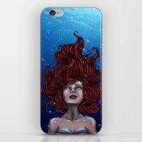 Tears Of A Mermaid iPhone & iPod Skin