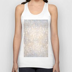 Glimmer of Light II (Ombré Glitter Abstract*) Unisex Tank Top