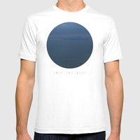 Into The Blue  Mens Fitted Tee White SMALL