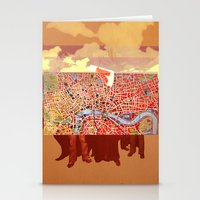 Paris People Stationery Cards