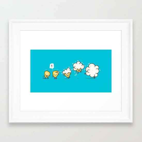 Microwavolution  Framed Art Print