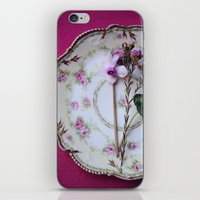 iPhone & iPod Skin featuring pretty in pink by Mary Carroll