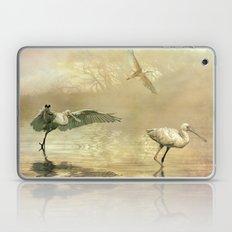 Spoonbill morning Laptop & iPad Skin