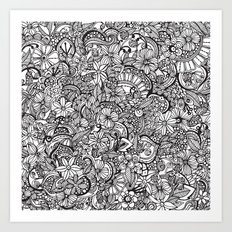 I spy... Art Print