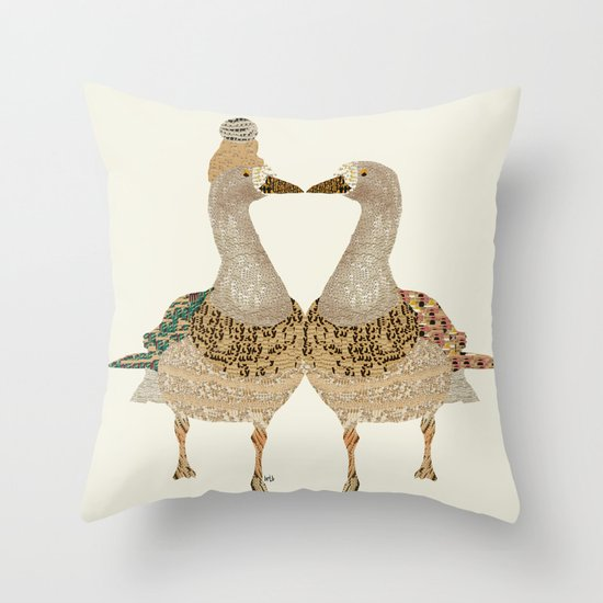 must be love Throw Pillow
