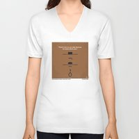 No090 My The Good The Bad The Ugly minimal movie poster Unisex V-Neck