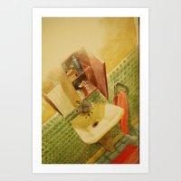 TOILET Art Print