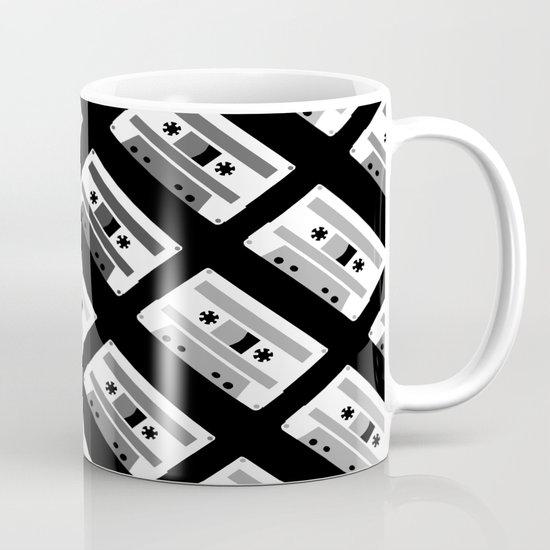 Black and White Tapes 45 Mug