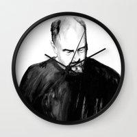 DARK COMEDIANS: Louis C.… Wall Clock