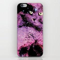 Celestial Cat - The British Shorthair & The Pelican Nebula iPhone & iPod Skin