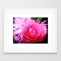Accept The Thorn In Whic… Framed Art Print