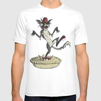 The Cat That Danced In A… Mens Fitted Tee White SMALL