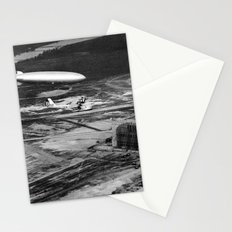 Zeppelin arrival over New Jersey Stationery Cards