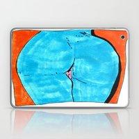 Blue Butt Laptop & iPad Skin
