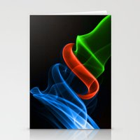 Smoking Colors Stationery Cards