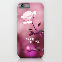 iPhone & iPod Case featuring WHITE ROSE 2 by Ylenia Pizzetti