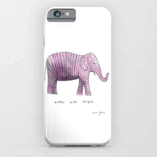 better with stripes iPhone & iPod Case