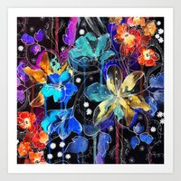 Lost In Botanica II Art Print