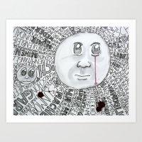 MoonTears Art Print