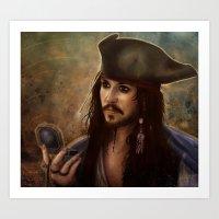 Captain Jack Art Print