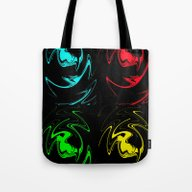 Tote Bag featuring Abstract Perfection 41 P… by Walter Zettl
