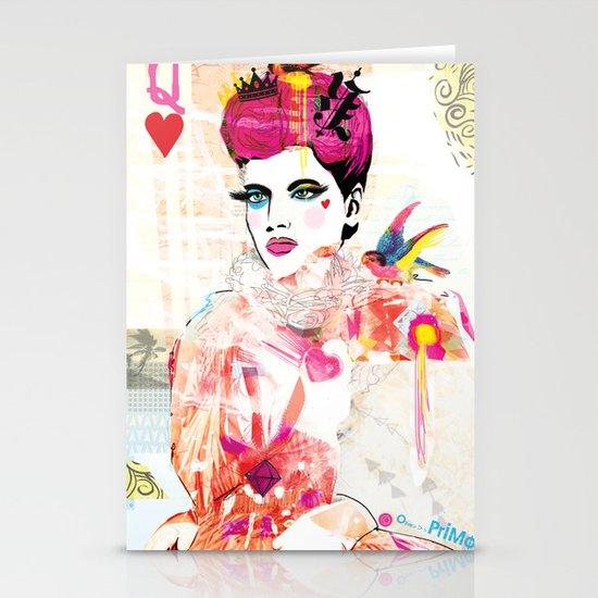 La Queen De Dimanche / The Queen of Sunday Stationery Card