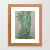 Star of wonder, star of night Framed Art Print