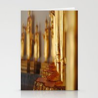 Golden Deities Stationery Cards